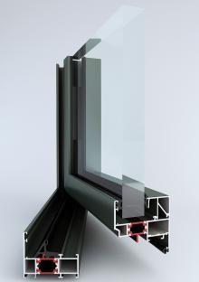 okna aluminiowe cieply tm62